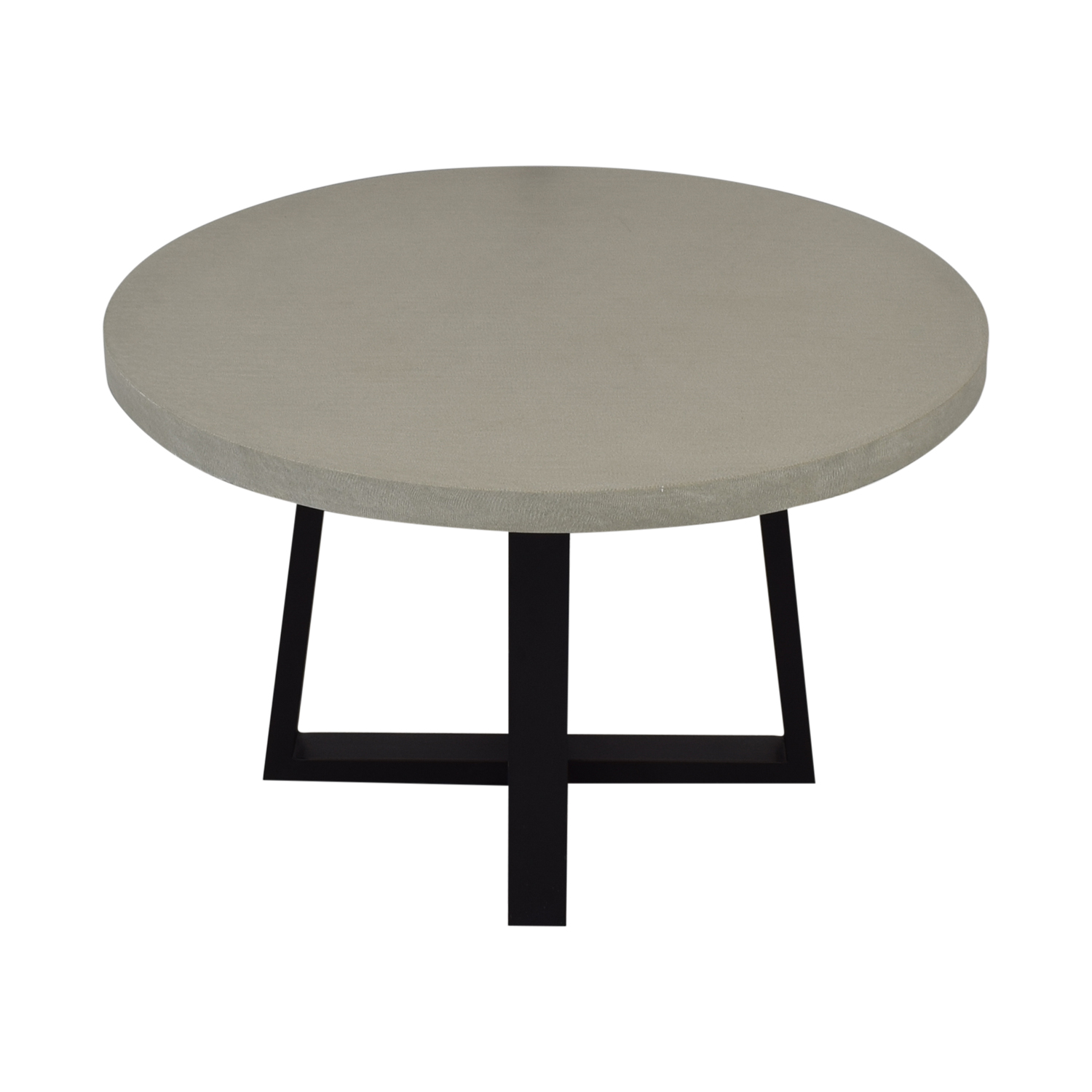 West Elm West Elm Round Slab Outdoor Dining Table dimensions