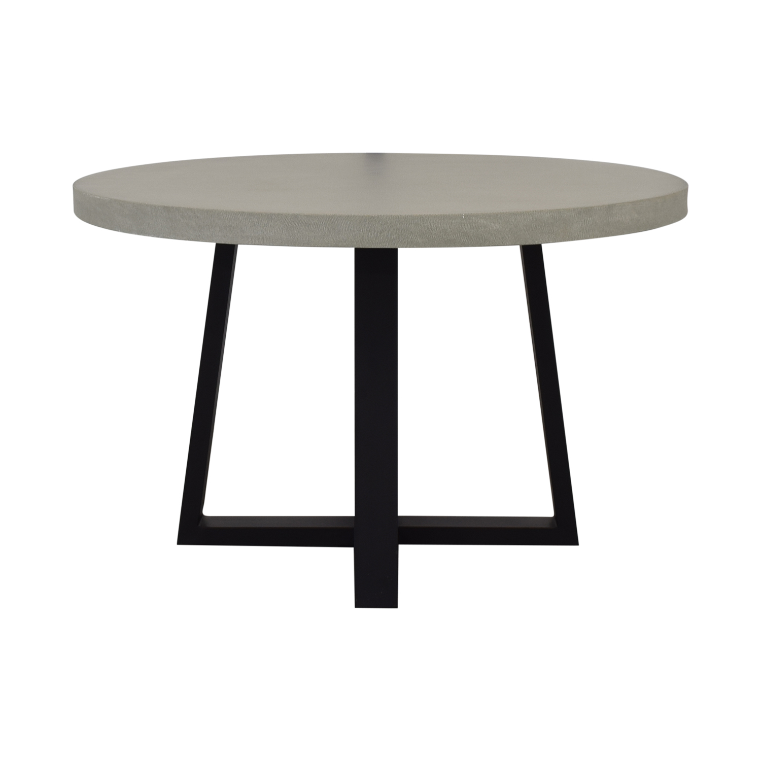 buy West Elm Round Slab Outdoor Dining Table West Elm Tables
