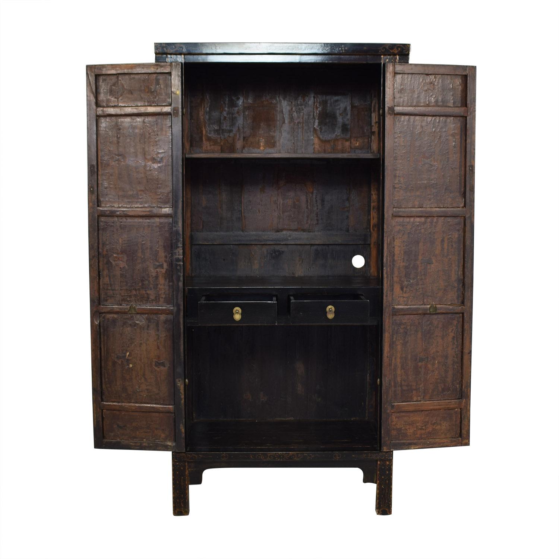 shop Tall Antique Armoire  Storage