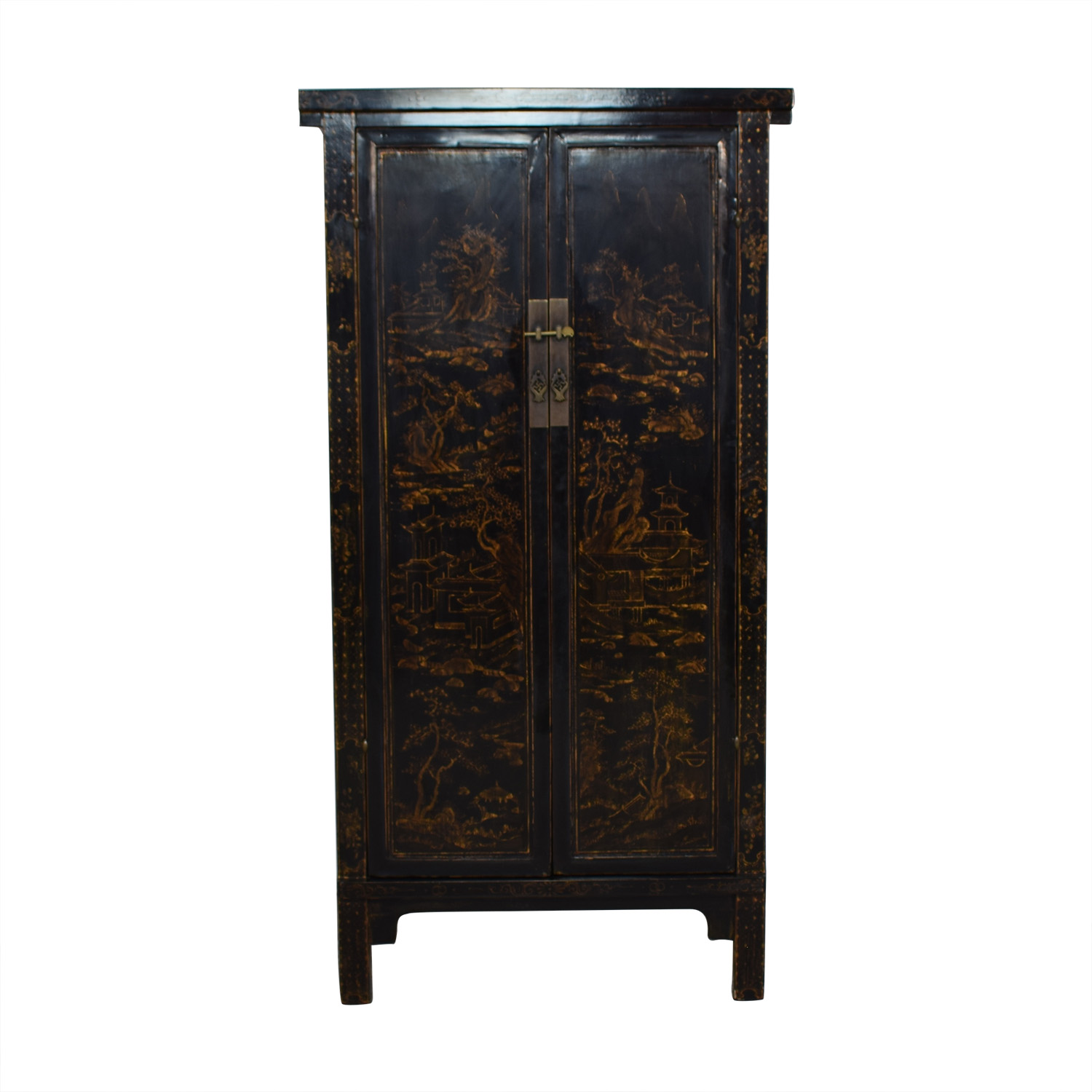 Tall Antique Armoire / Wardrobes & Armoires