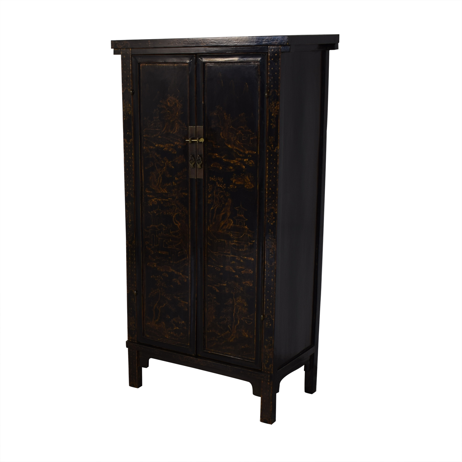 Tall Antique Armoire price