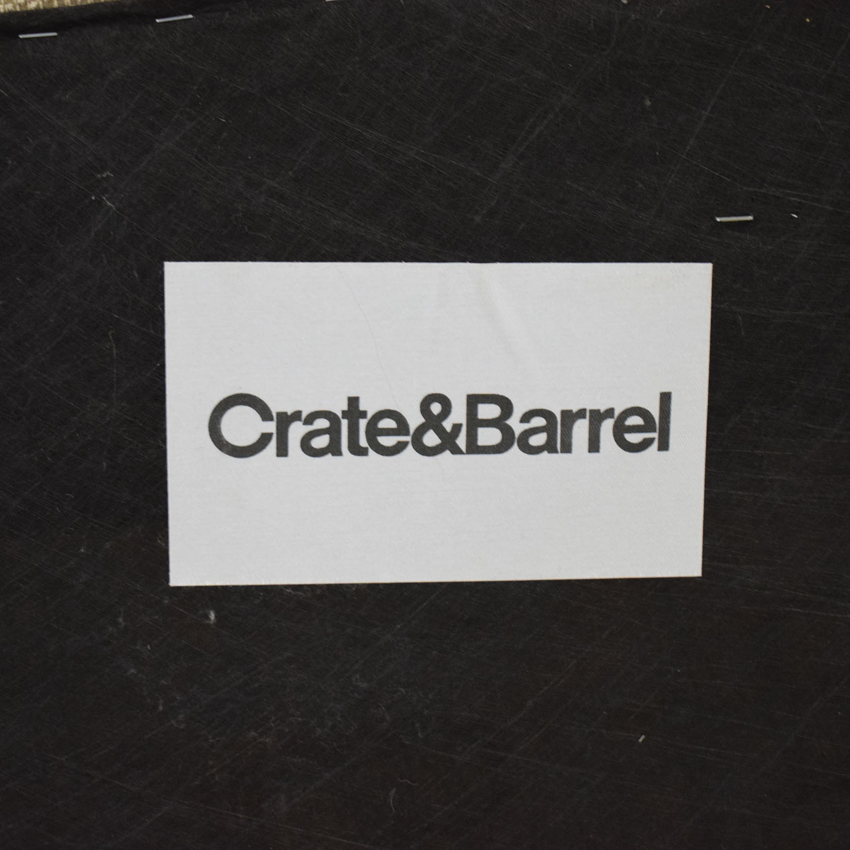 Crate & Barrel Crate & Barrel Margot II Tight Back Loveseat Loveseats