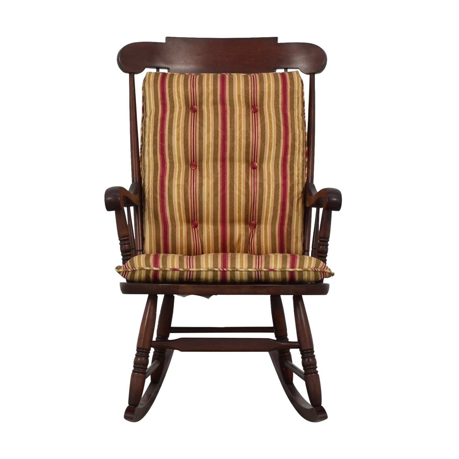Awesome 82 Off Hitchcock Hitchcock Wooden Rocking Chair Chairs Machost Co Dining Chair Design Ideas Machostcouk