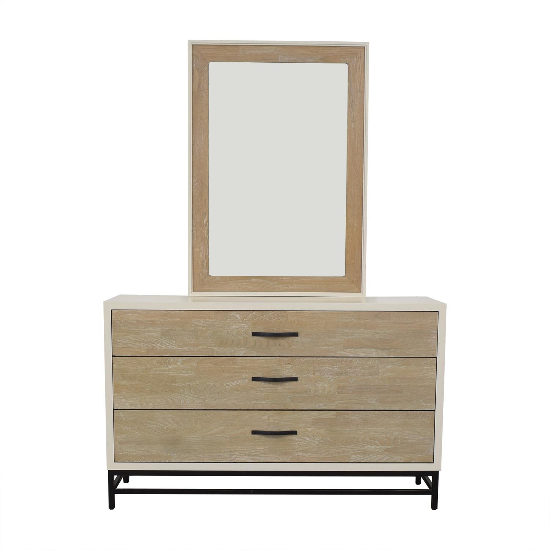 Universal Furniture Spencer Dresser with Mirror / Storage