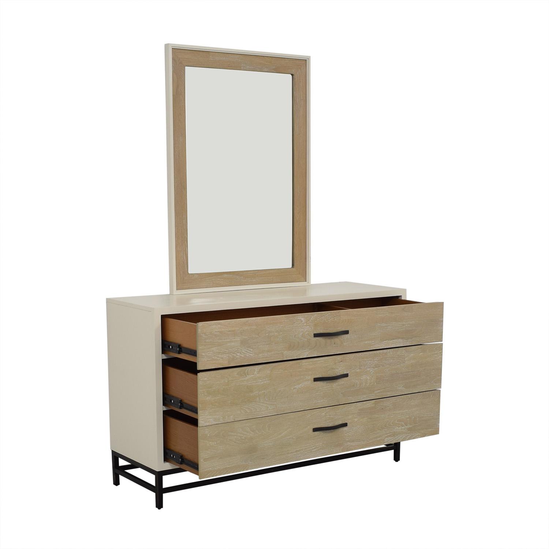 buy Universal Furniture Spencer Dresser with Mirror Universal Furniture
