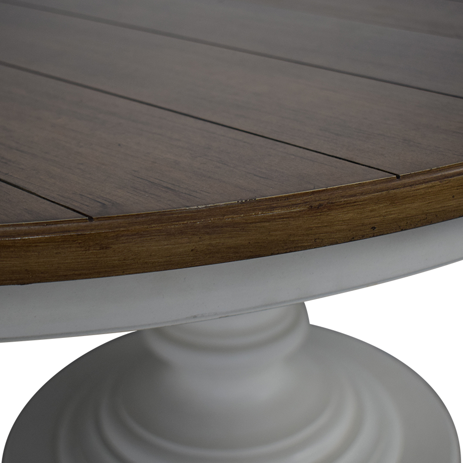 Macy's Macy's Sag Harbor Expandable Round Dining Pedestal Table used