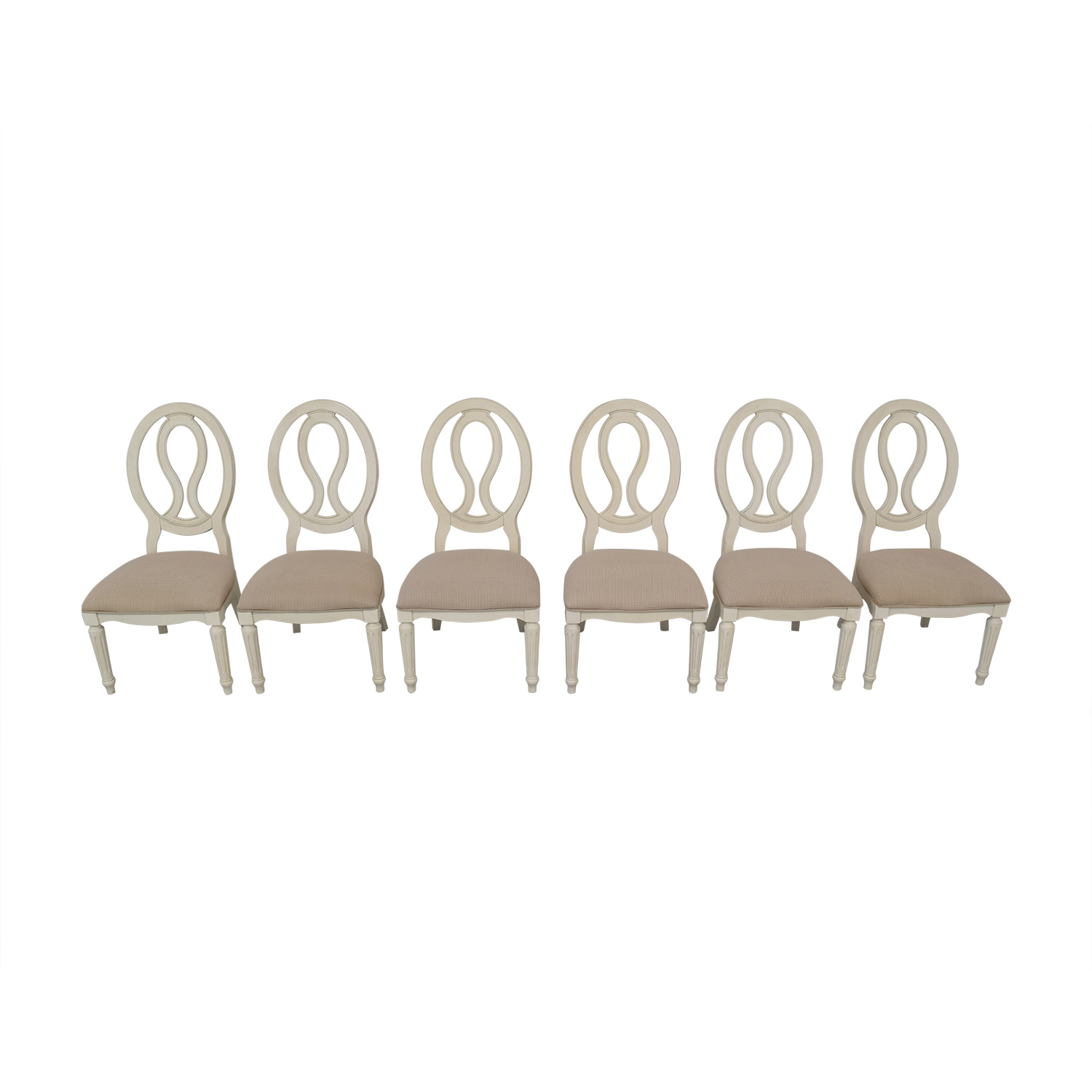 Universal Furniture Universal Furniture Pierced Back Side Chairs discount