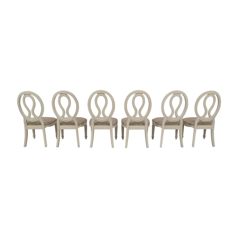 shop Universal Furniture Pierced Back Side Chairs Universal Furniture Dining Chairs