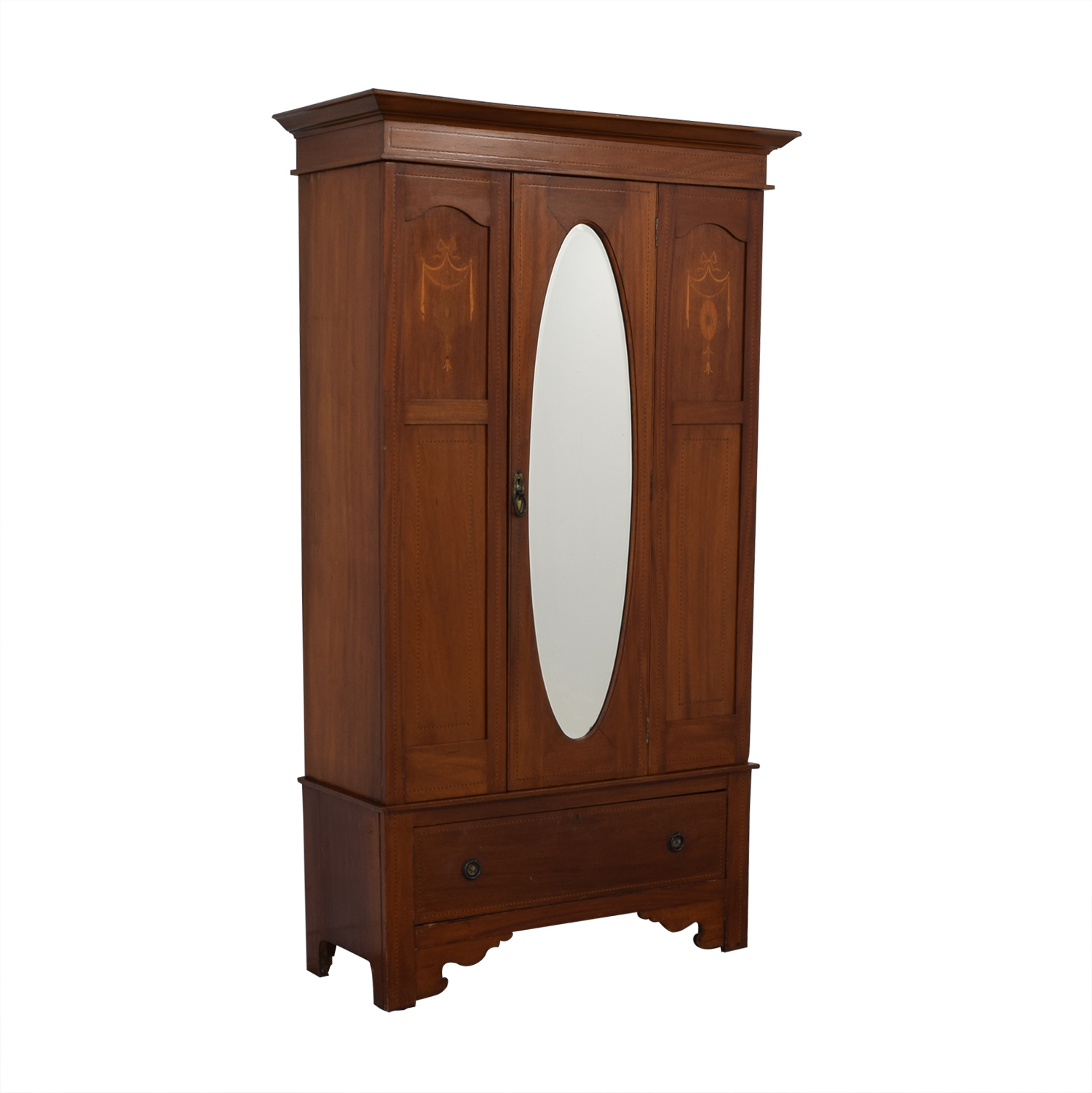 buy ABC Carpet & Home Armoire with Mirror ABC Carpet & Home Storage