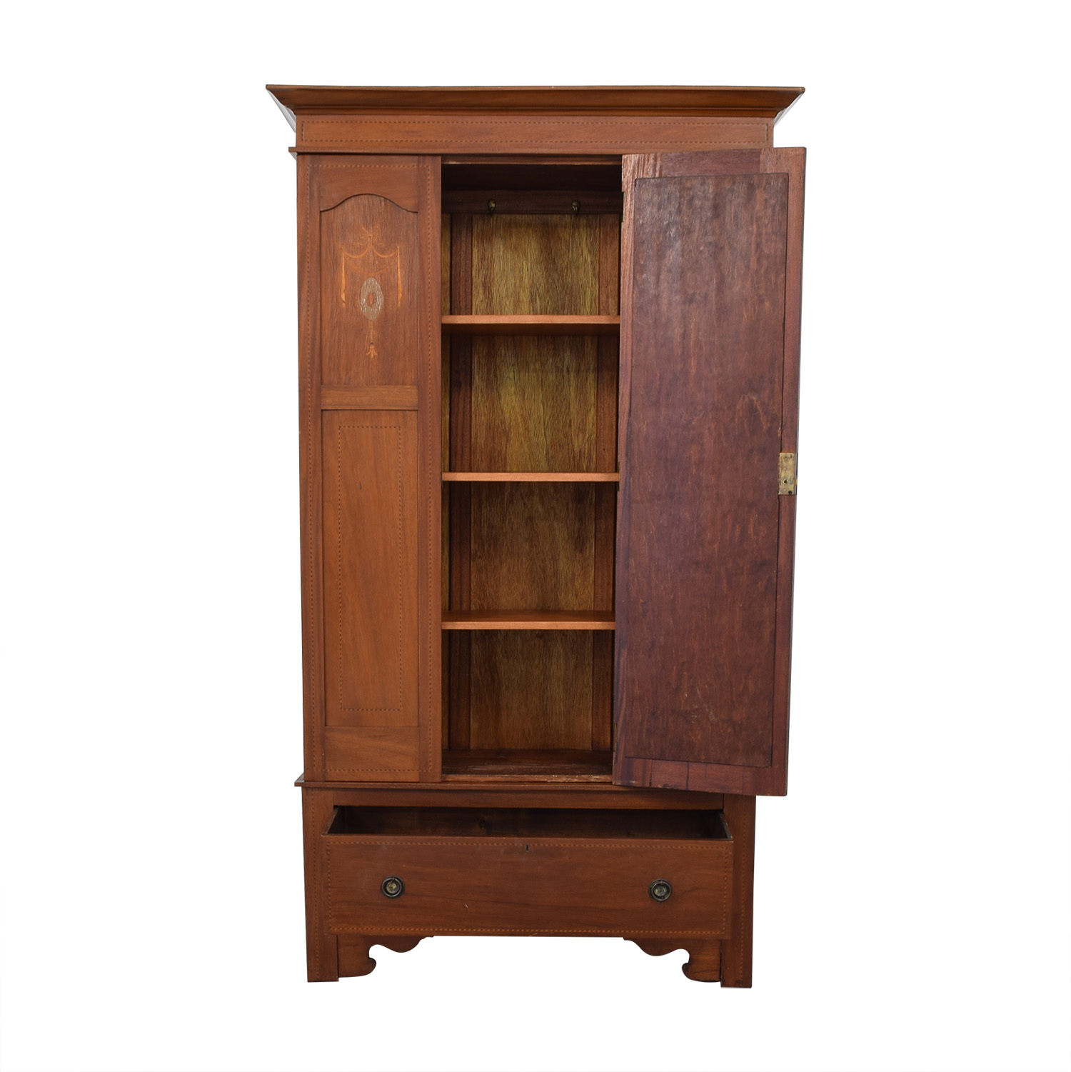 ABC Carpet & Home ABC Carpet & Home Armoire with Mirror second hand