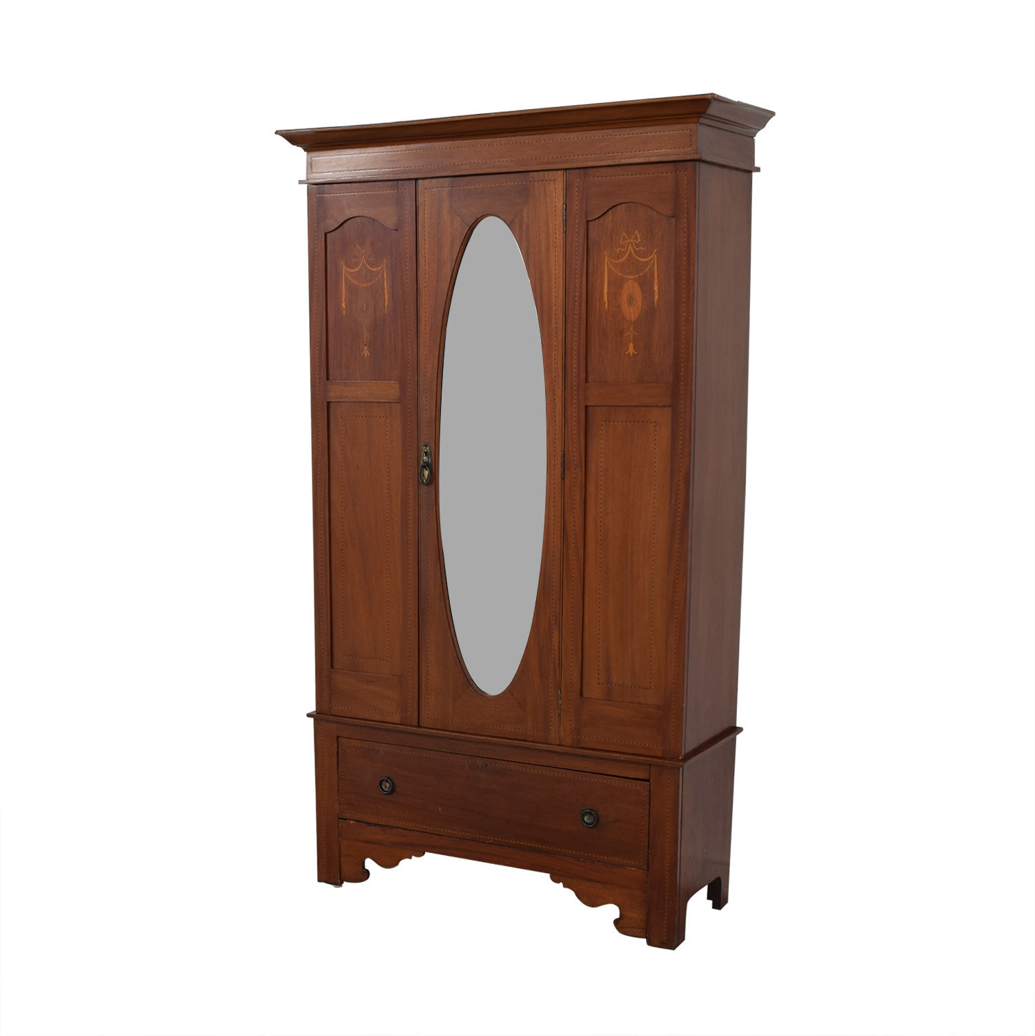 ABC Carpet & Home ABC Carpet & Home Armoire with Mirror coupon