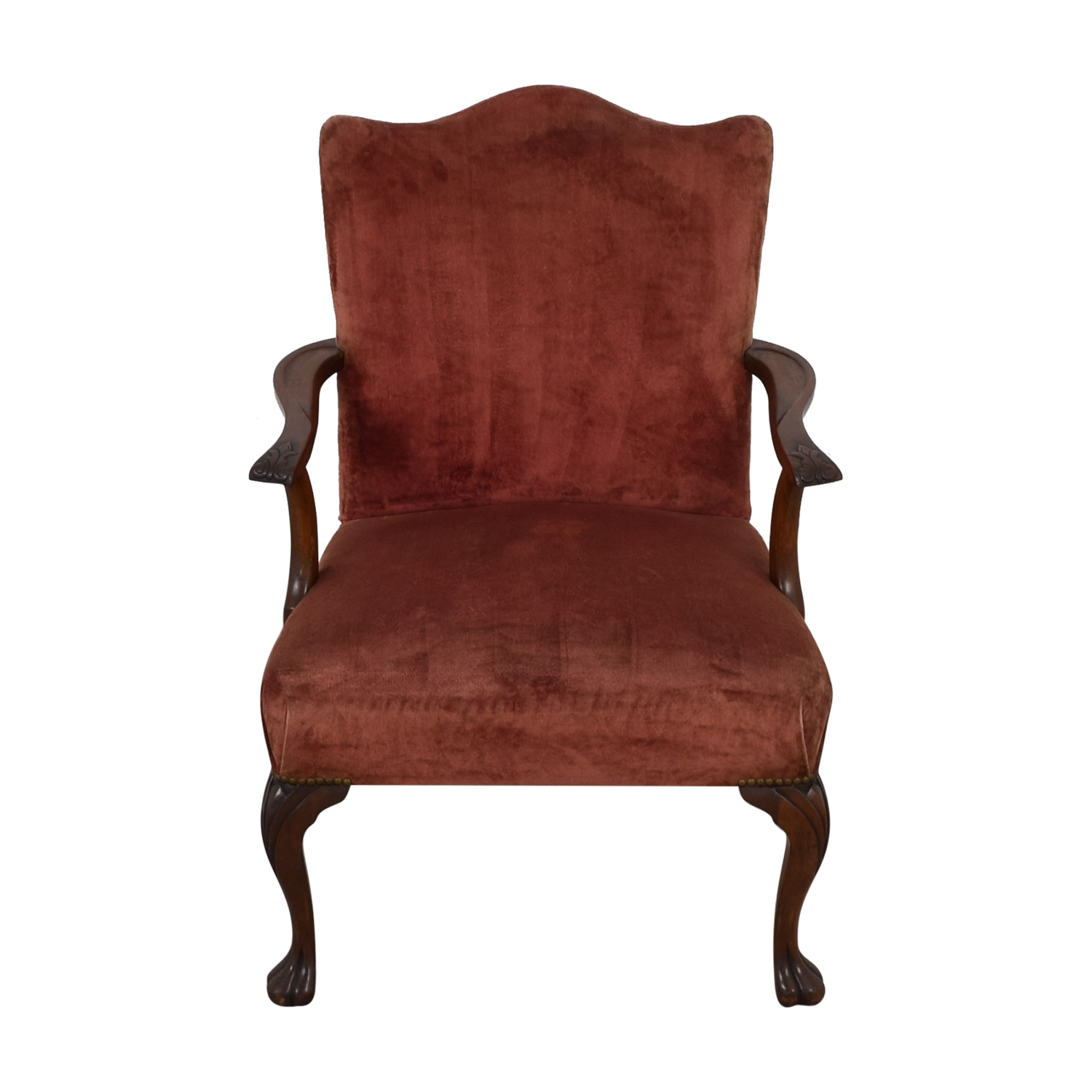 Antique Curved Back Armchair sale
