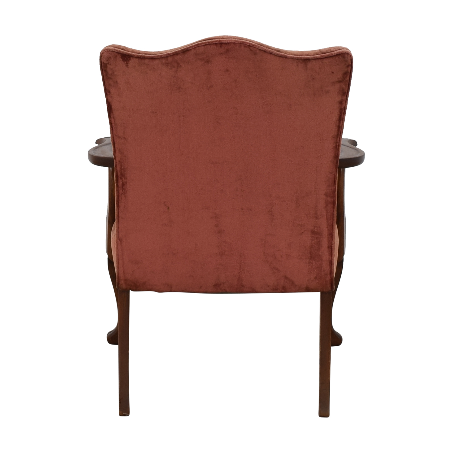 Antique Curved Back Armchair price