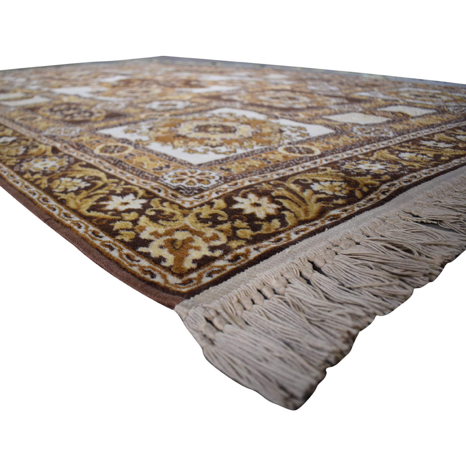 Patterned Wool Rug coupon