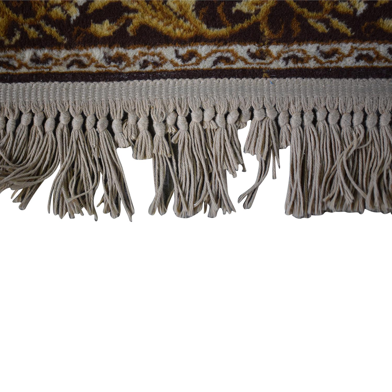 Patterned Wool Rug Rugs