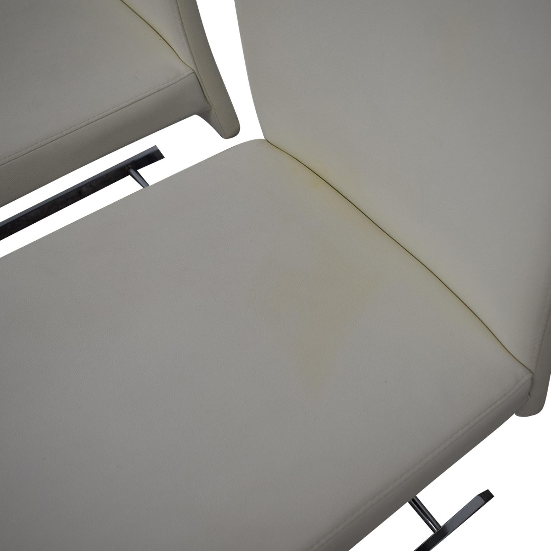 shop Creative Furniture Creative Furniture Fabio Leather Chairs online