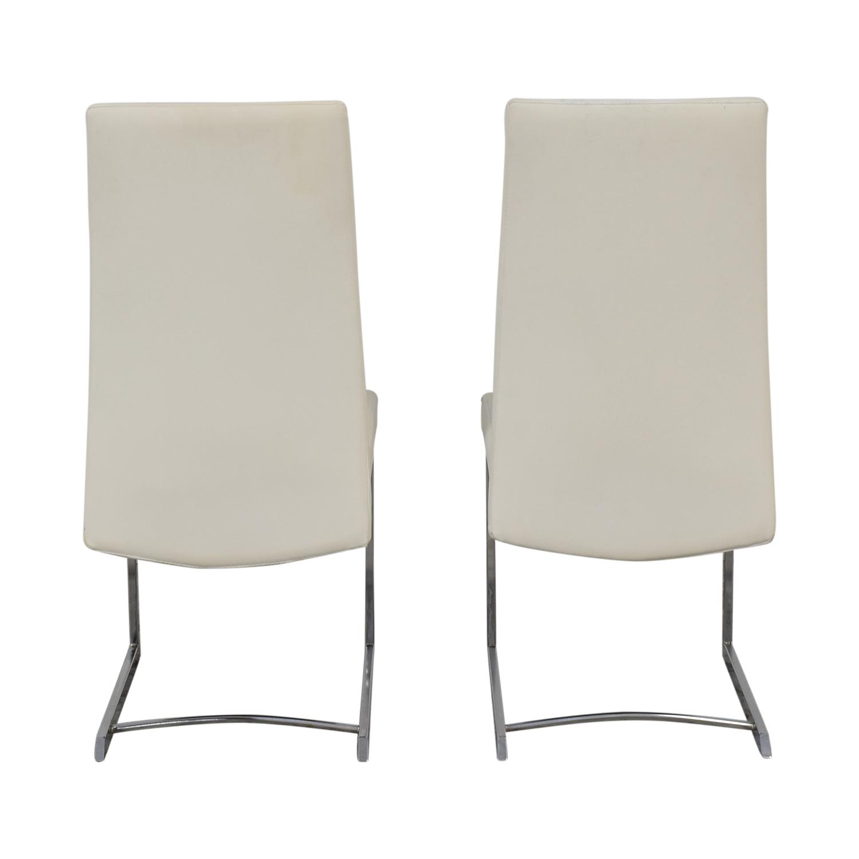 buy Creative Furniture Fabio Leather Chairs Creative Furniture Dining Chairs
