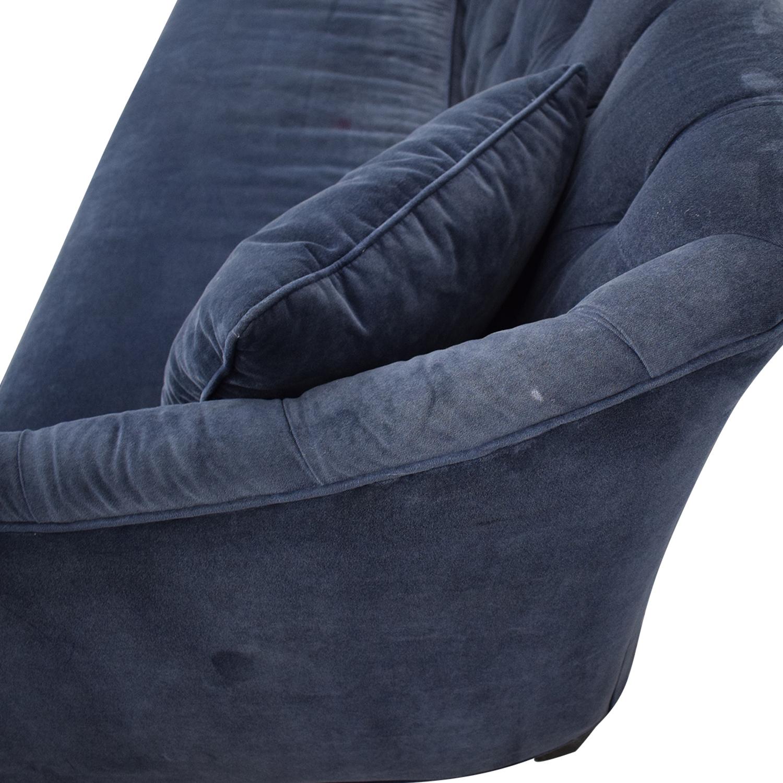 Horchow Horchow Blue Sofa Sofas