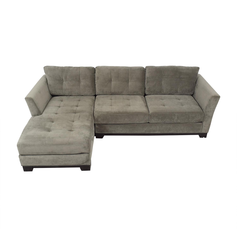 shop Macy's Jonathan Louis Elliot Chaise Sectional Sofa Macy's