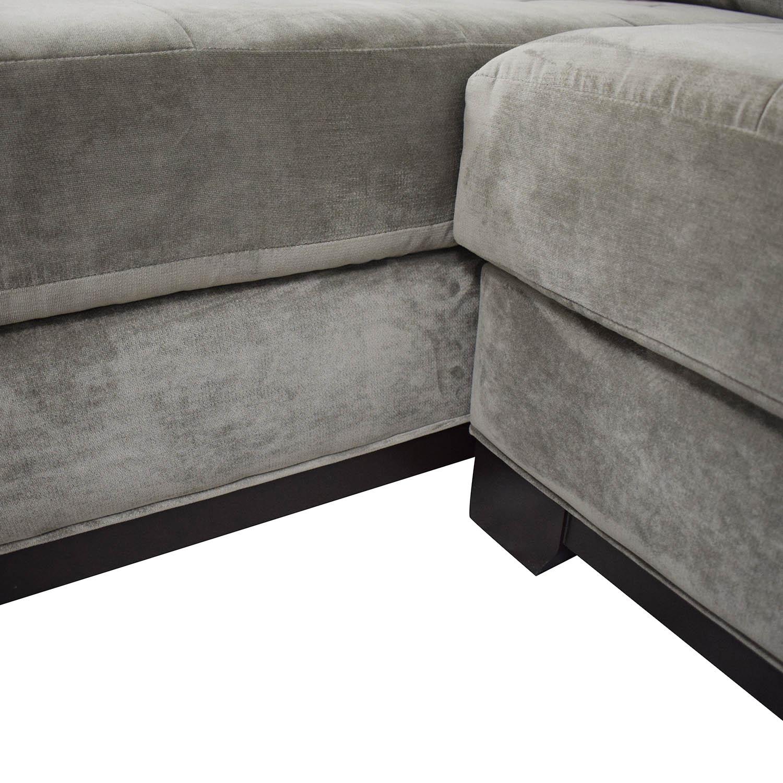Macy's Macy's Jonathan Louis Elliot Chaise Sectional Sofa nj