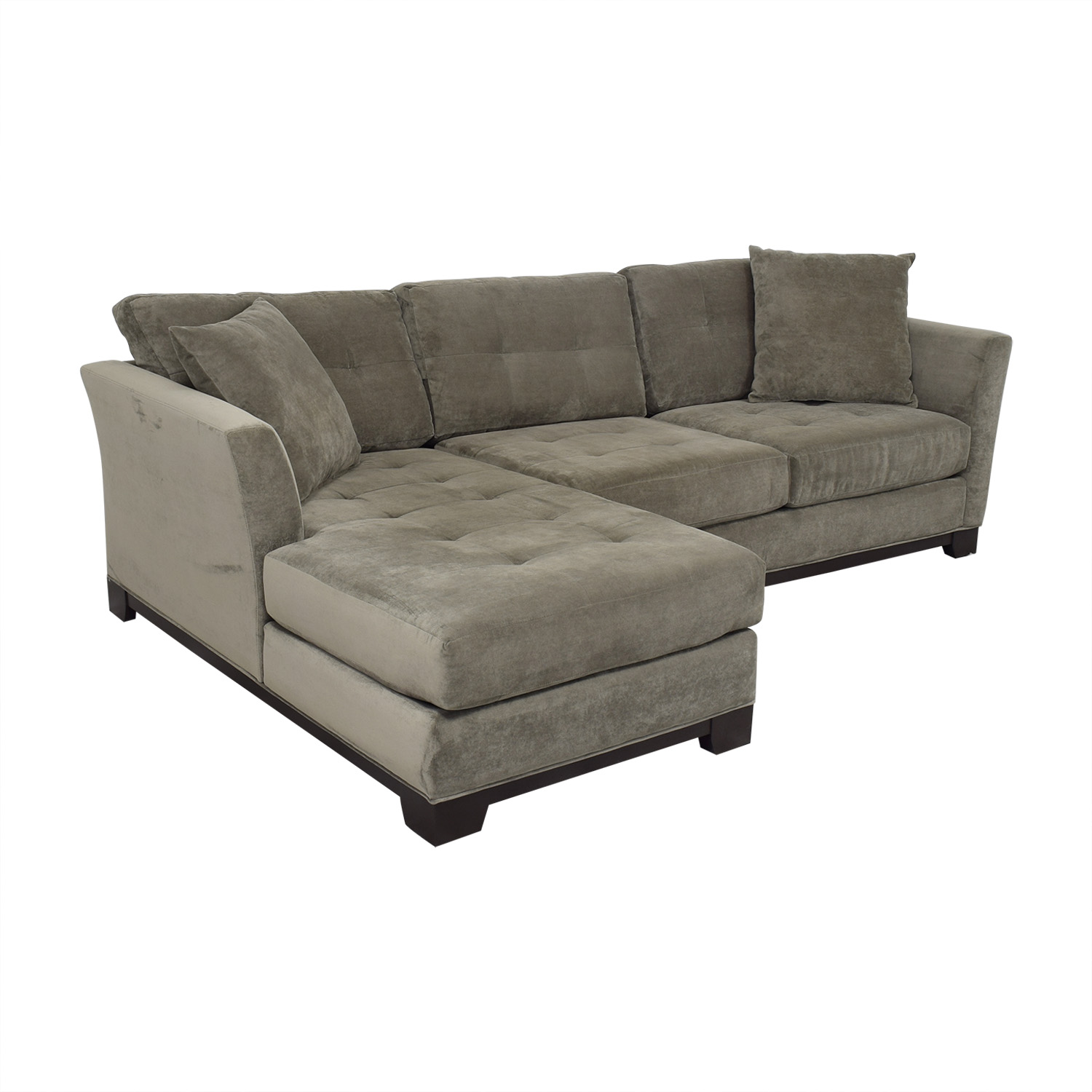 Macy's Macy's Jonathan Louis Elliot Chaise Sectional Sofa for sale