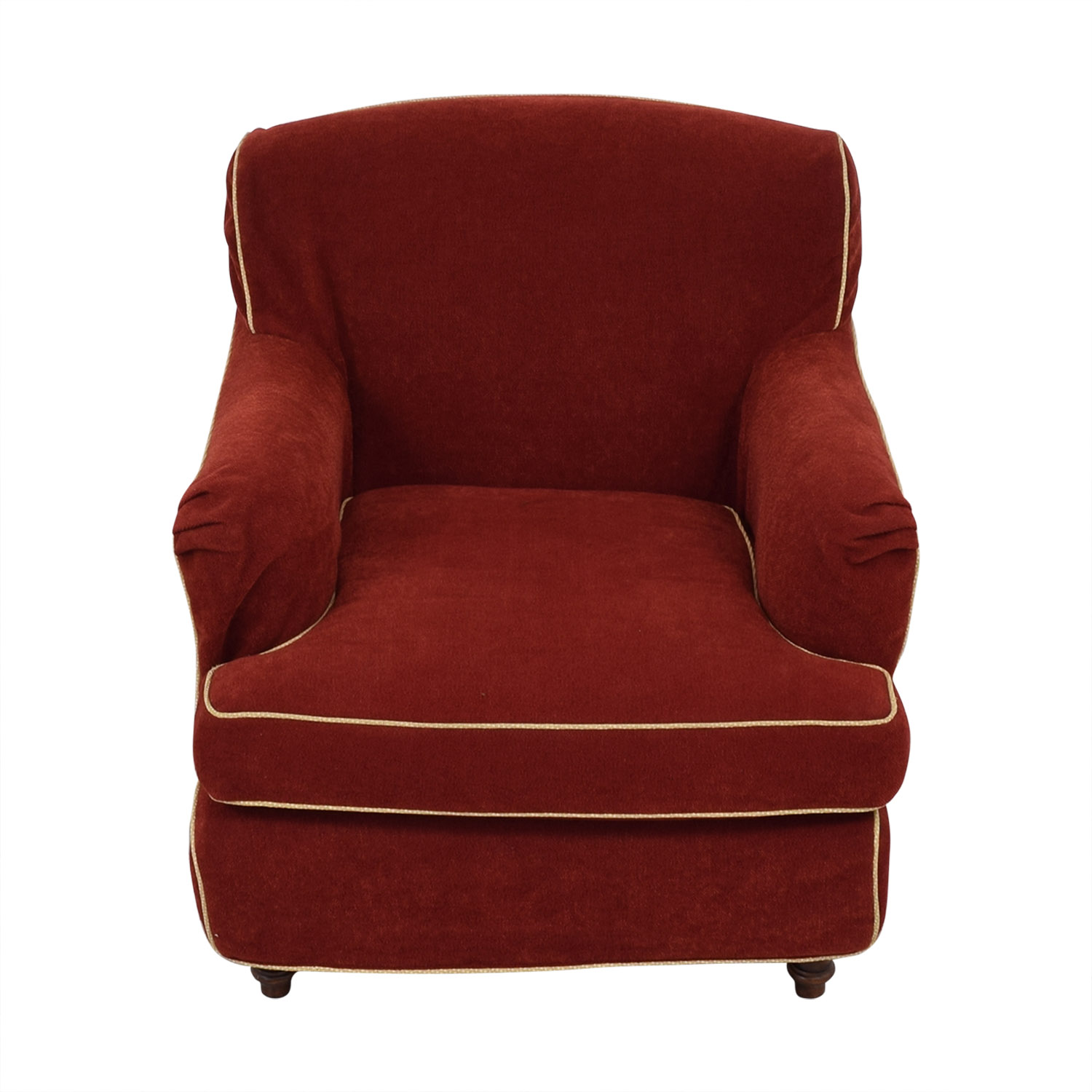 JM Paquet JM Paquet Club Chair with Contrast Piping price