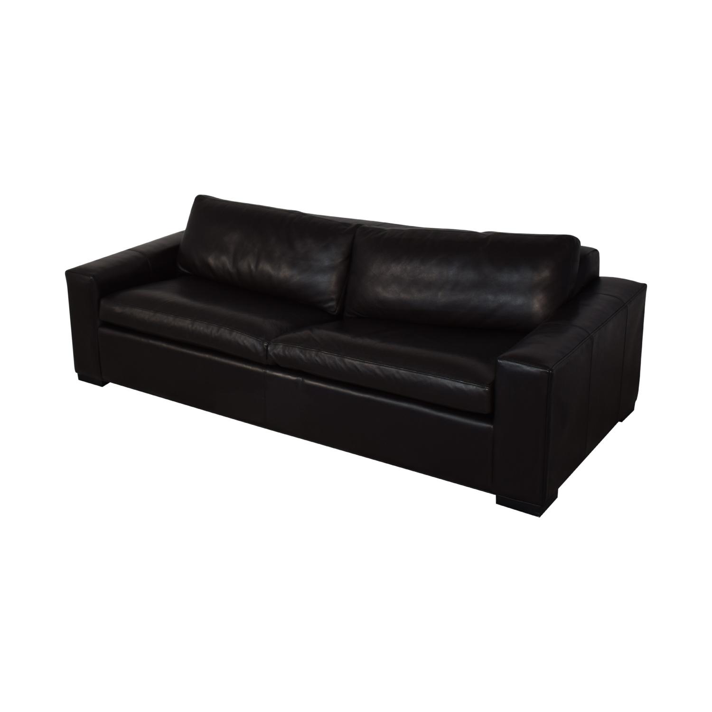 Room & Board Room & Board Leather Sleeper Sofa Sofa Beds