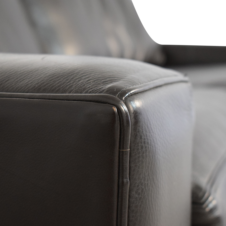 Room & Board Leather Sleeper Sofa / Sofas