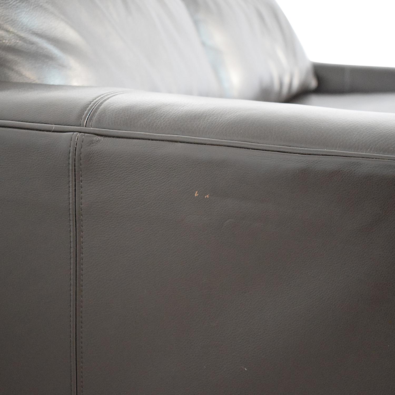 buy Room & Board Leather Sleeper Sofa Room & Board Sofas