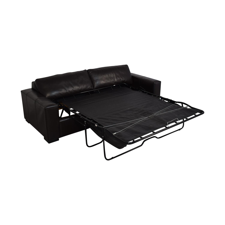 Room & Board Room & Board Leather Sleeper Sofa on sale