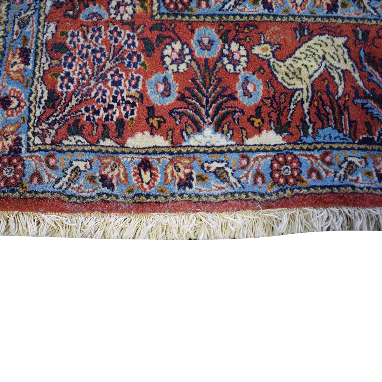 Printed Persian Rug on sale