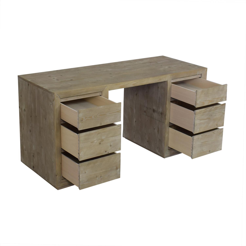 Restoration Hardware Callum Storage Desk / Tables