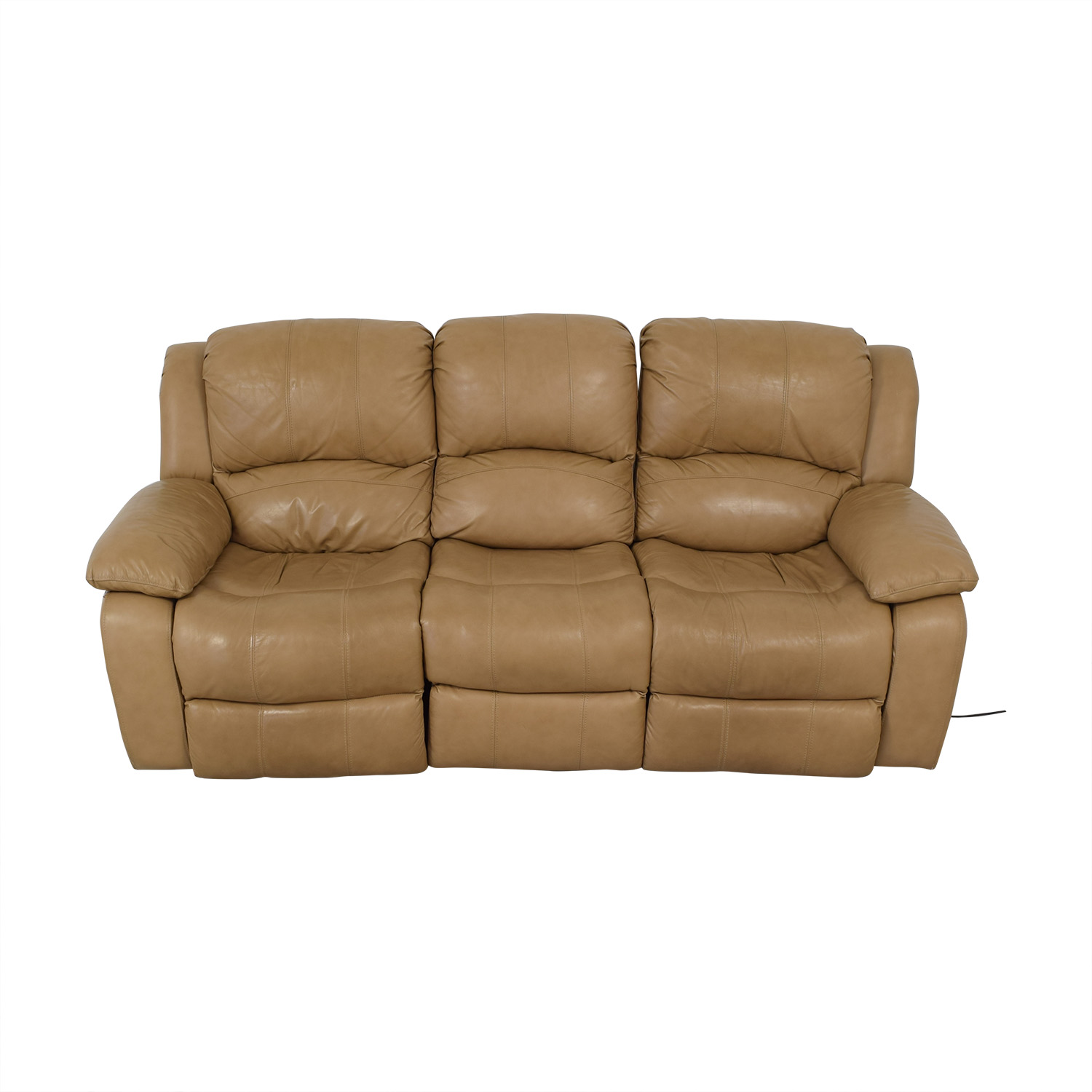 Ordinaire 76% OFF   Raymour U0026 Flanigan Raymour U0026 Flanigan Bryant II Leather Power  Reclining Sofa / Sofas