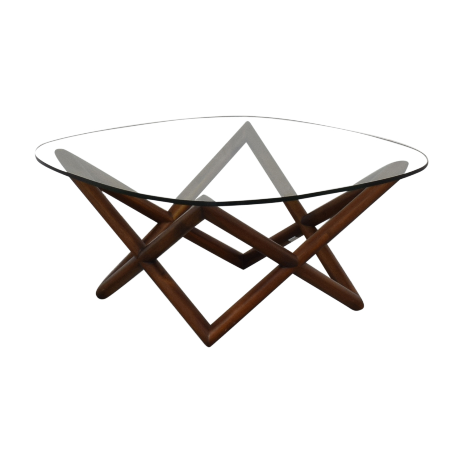 West Elm West Elm Spindle Coffee Table for sale