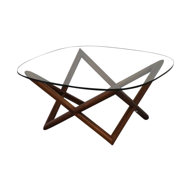 buy West Elm Spindle Coffee Table West Elm
