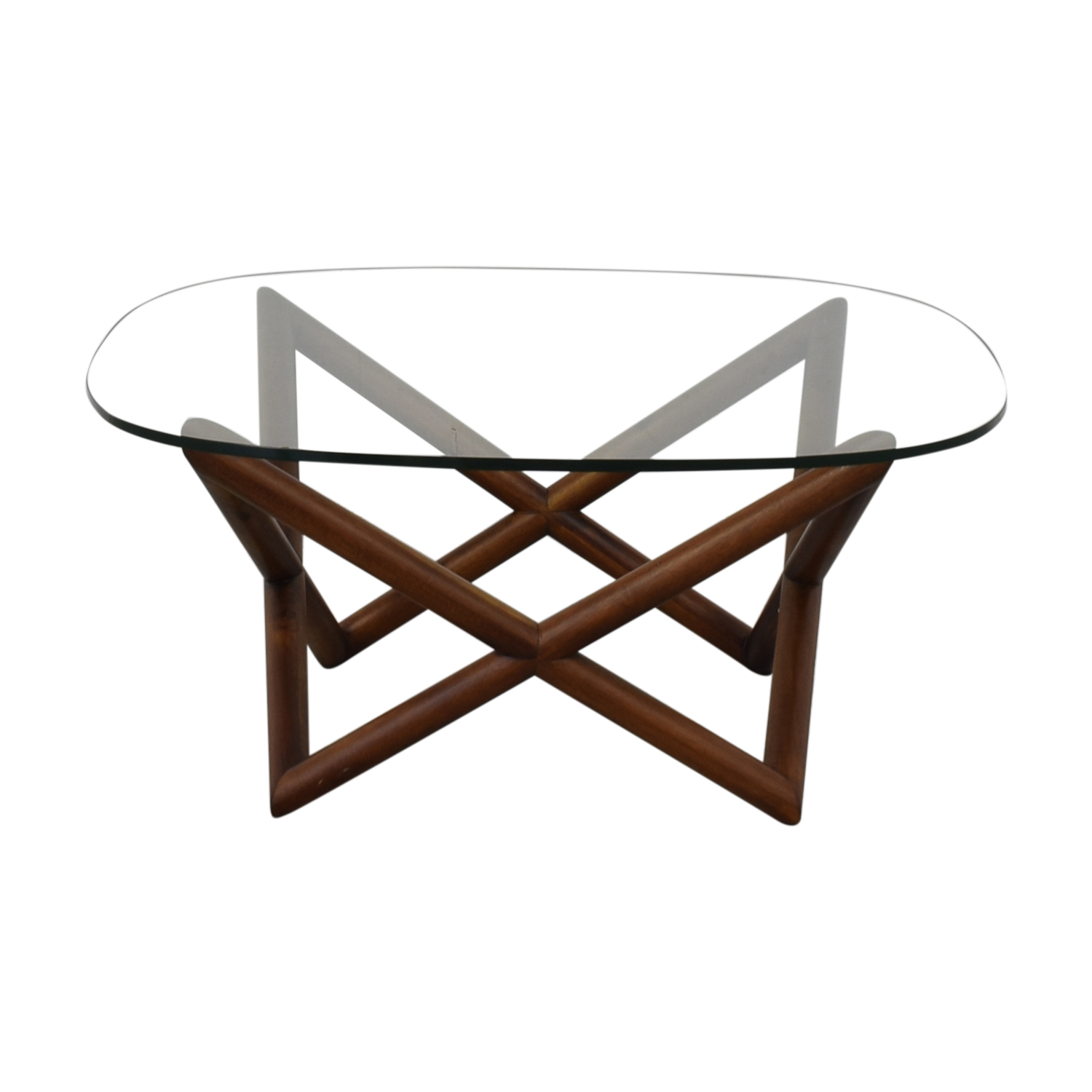 West Elm Spindle Coffee Table sale