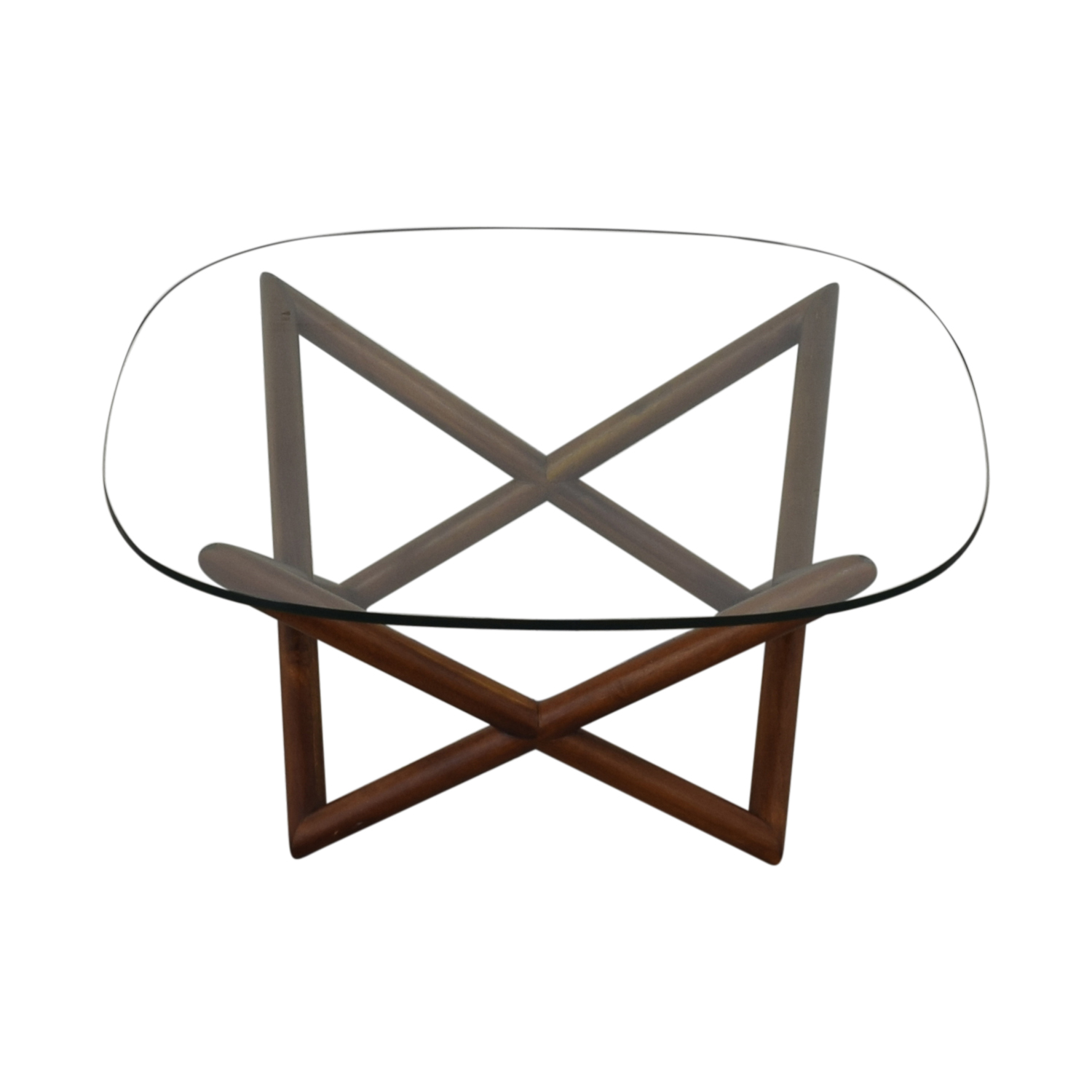 West Elm Spindle Coffee Table West Elm