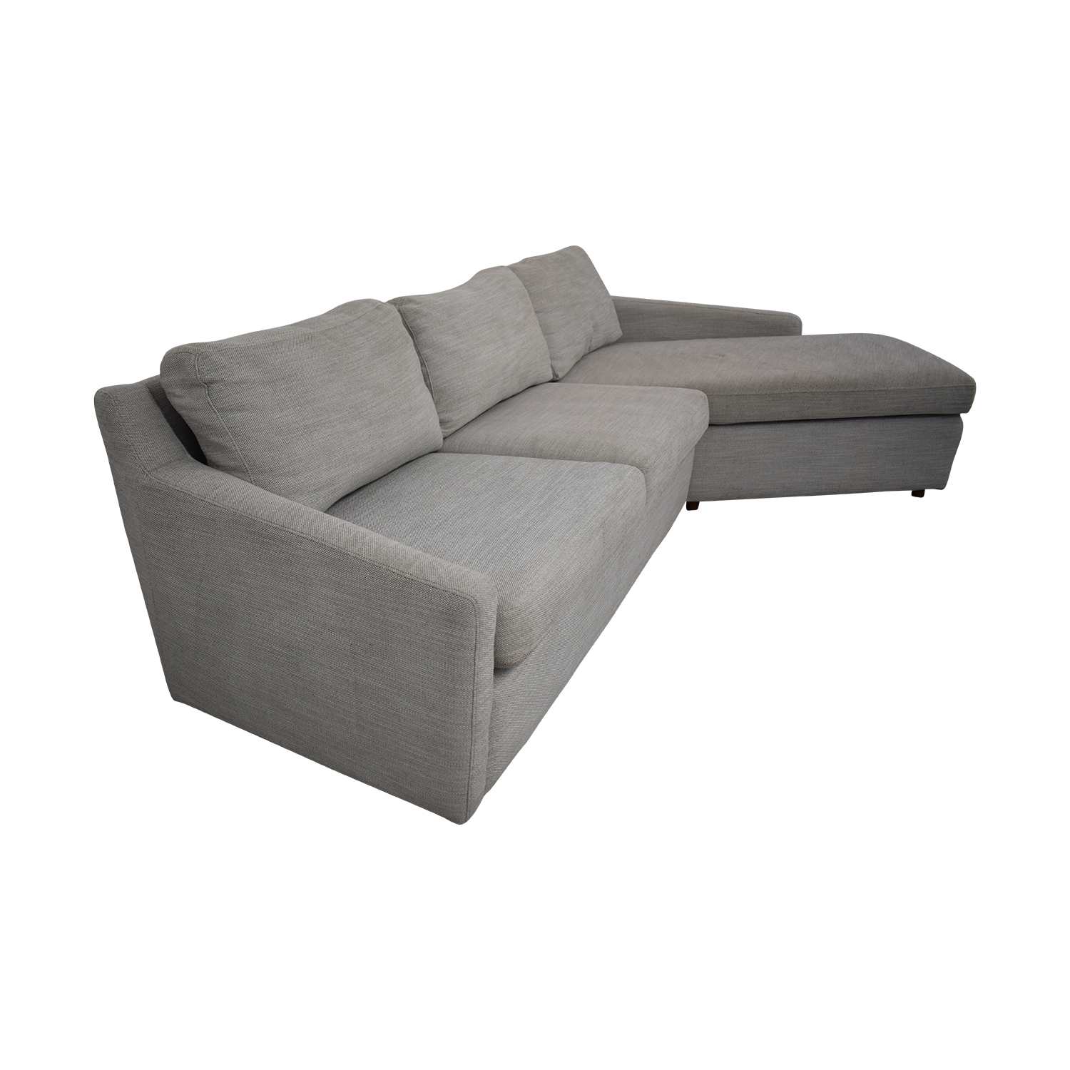 West Elm Trapez Chaise Sectional Sofa / Sectionals