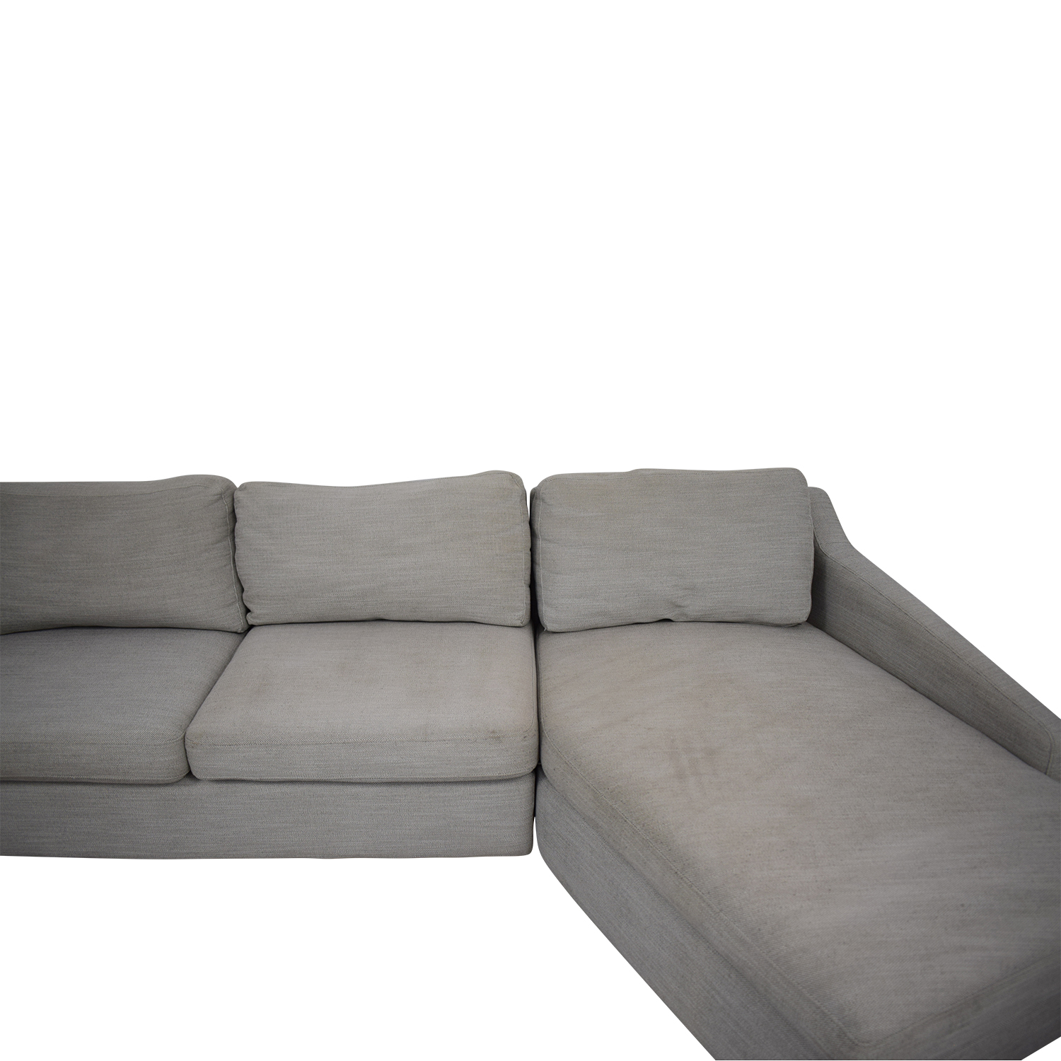 West Elm West Elm Trapez Chaise Sectional Sofa Sofas