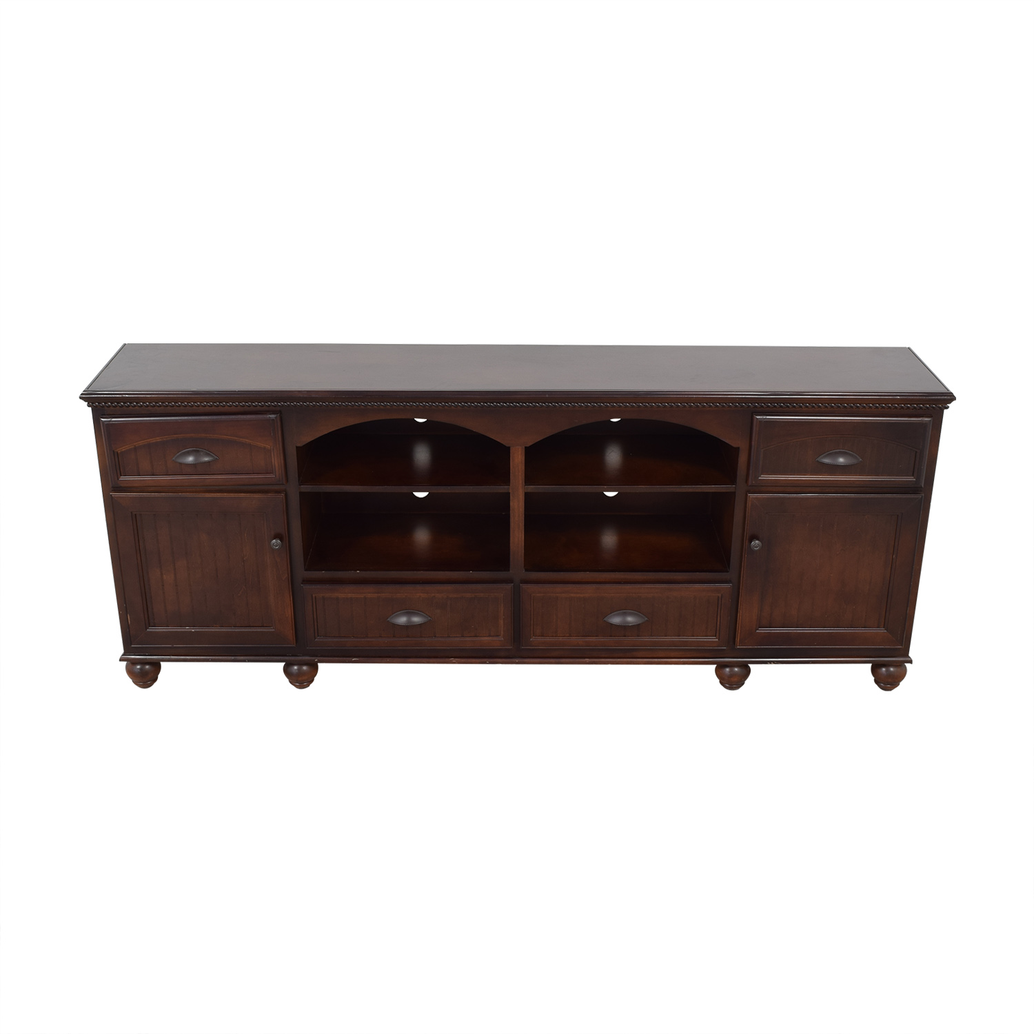 shop Overstock Overstock TV Stand with Cabinets and Drawers online