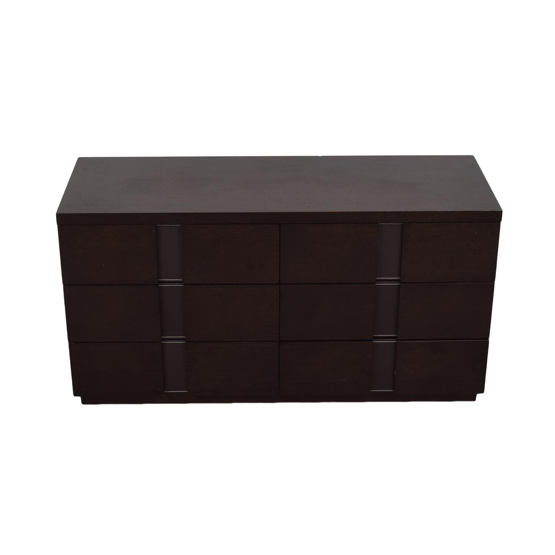 J&M Furniture J&M Furniture Six Drawer Dresser