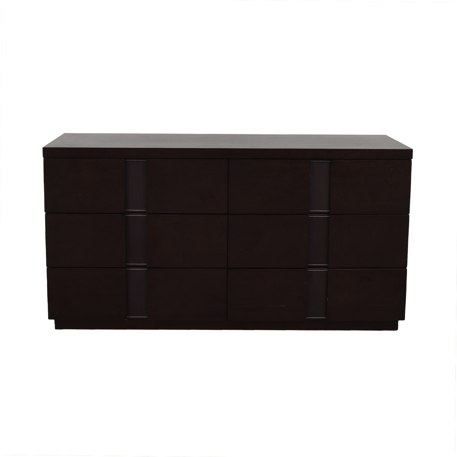 J&M Furniture J&M Furniture Six Drawer Dresser dark brown