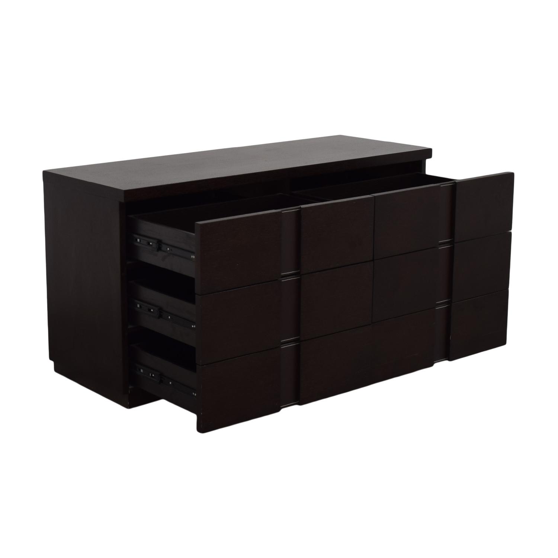 buy J&M Furniture Six Drawer Dresser J&M Furniture
