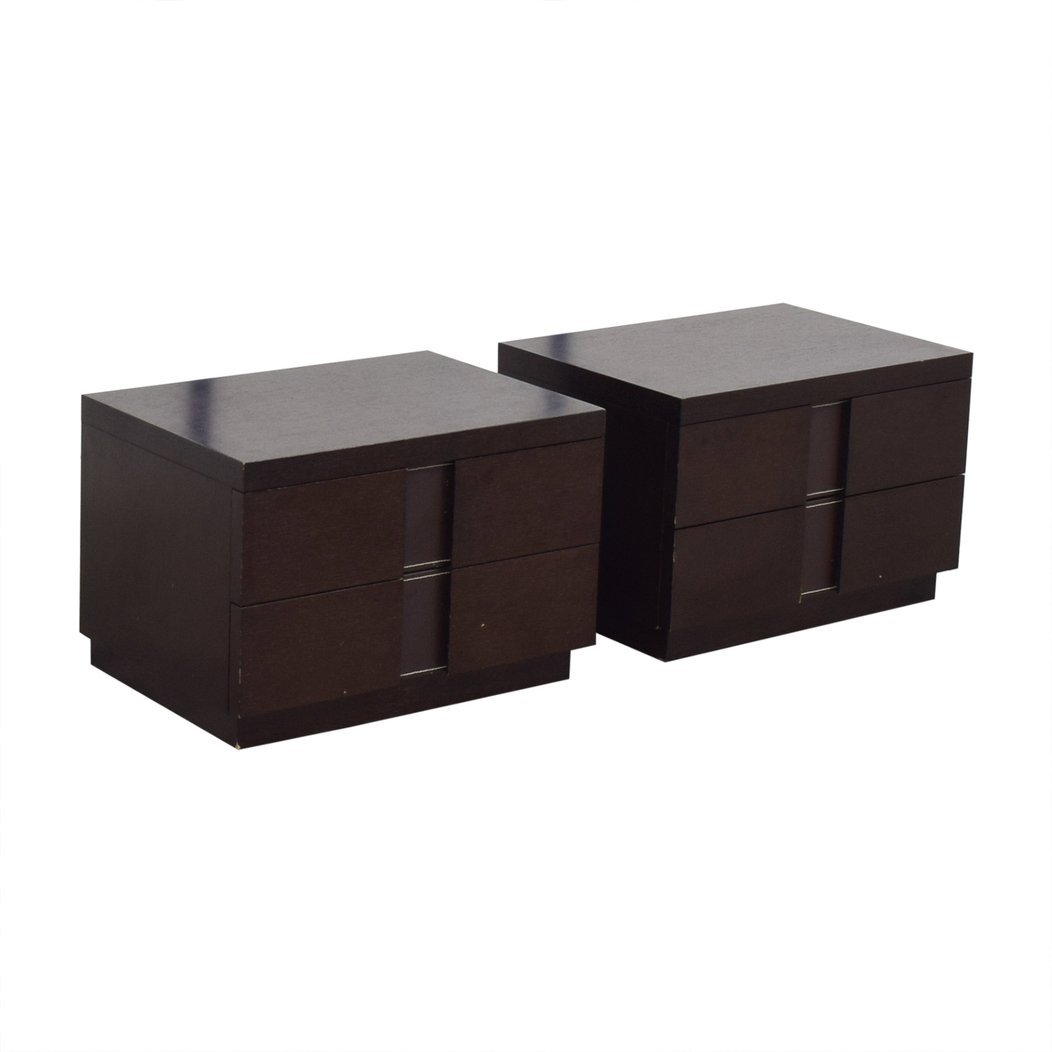 J&M Furniture Two Drawer Nightstands sale