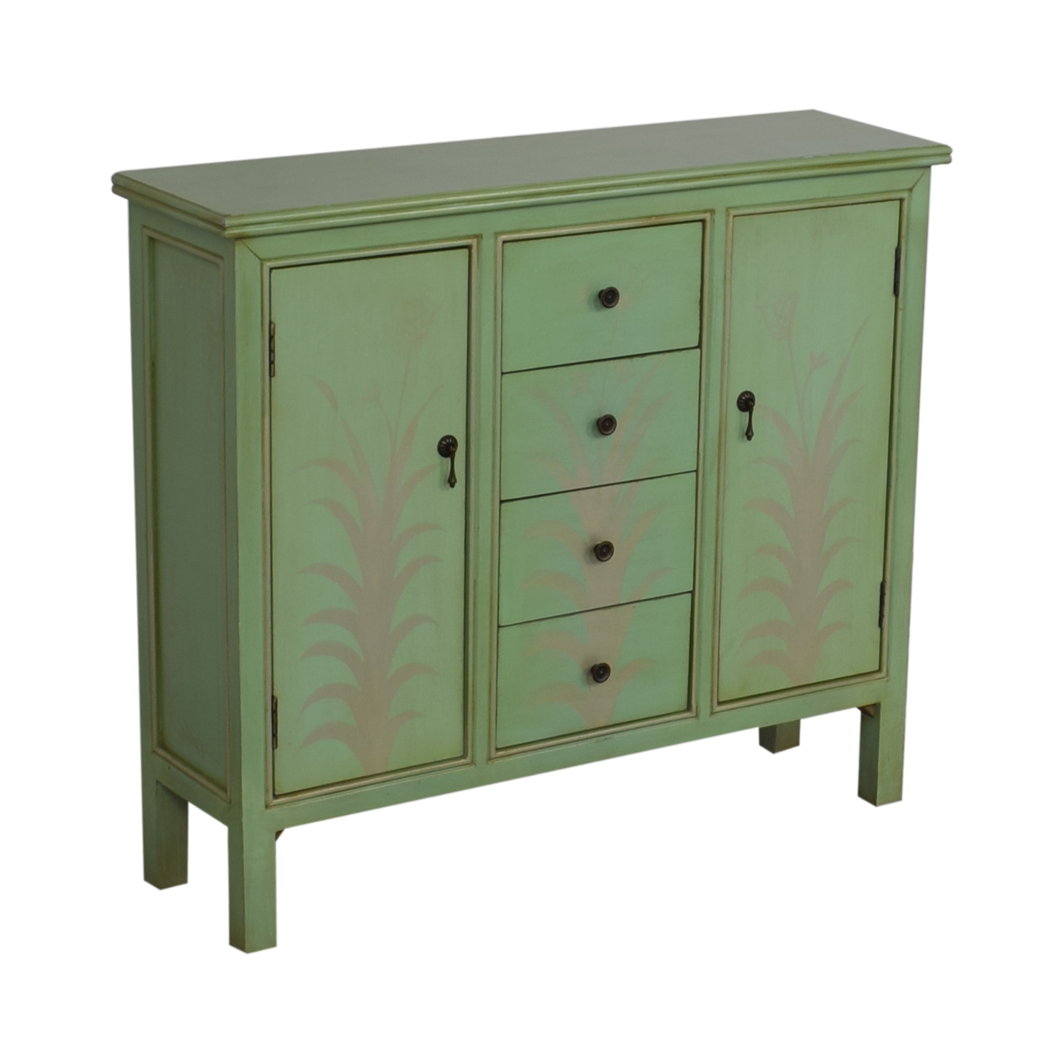 Raymour & Flanigan Mint Green Accent Chest / Cabinets & Sideboards