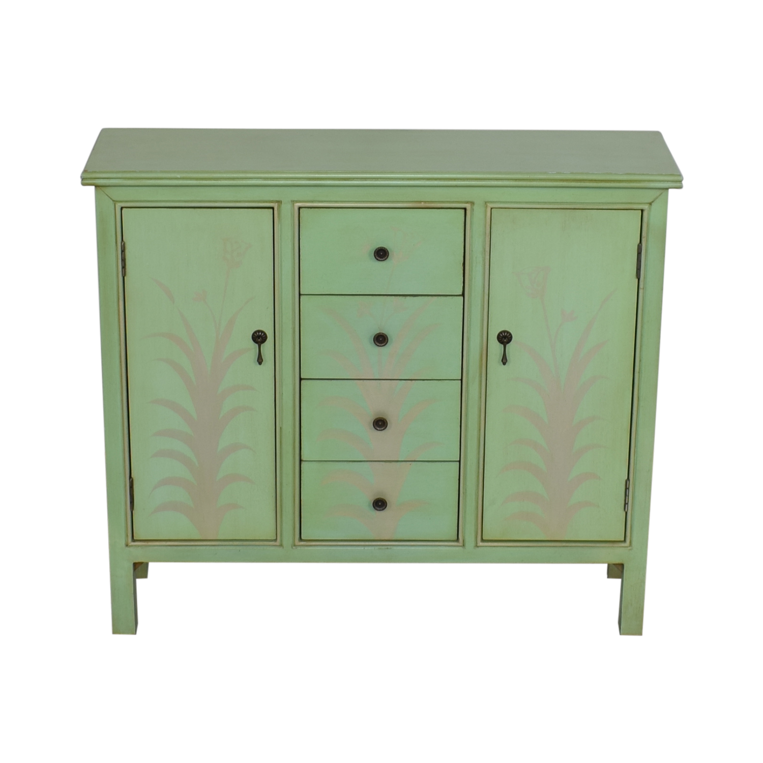 Raymour & Flanigan Mint Green Accent Chest / Storage
