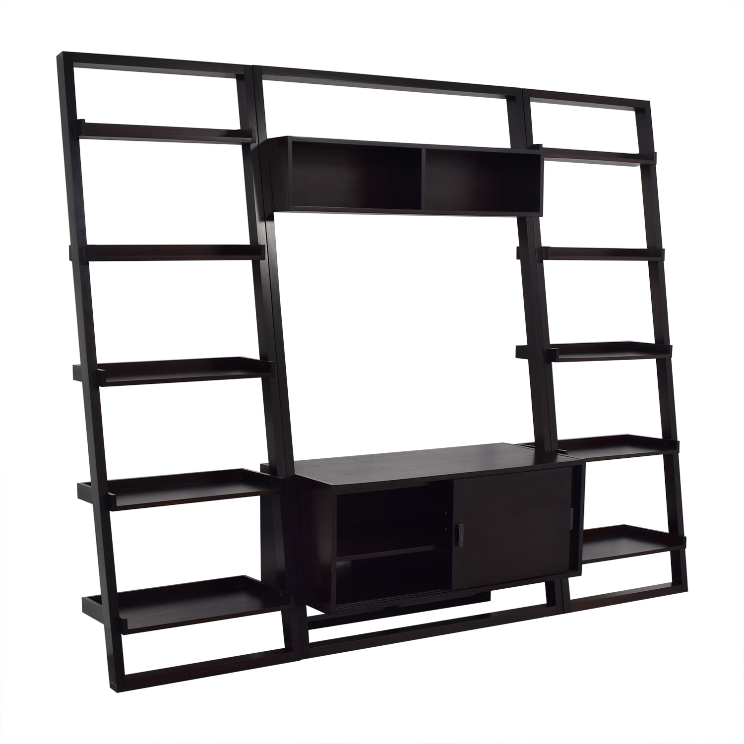 buy Crate & Barrel Crate & Barrel Sawyer Media Stand with Bookcases online
