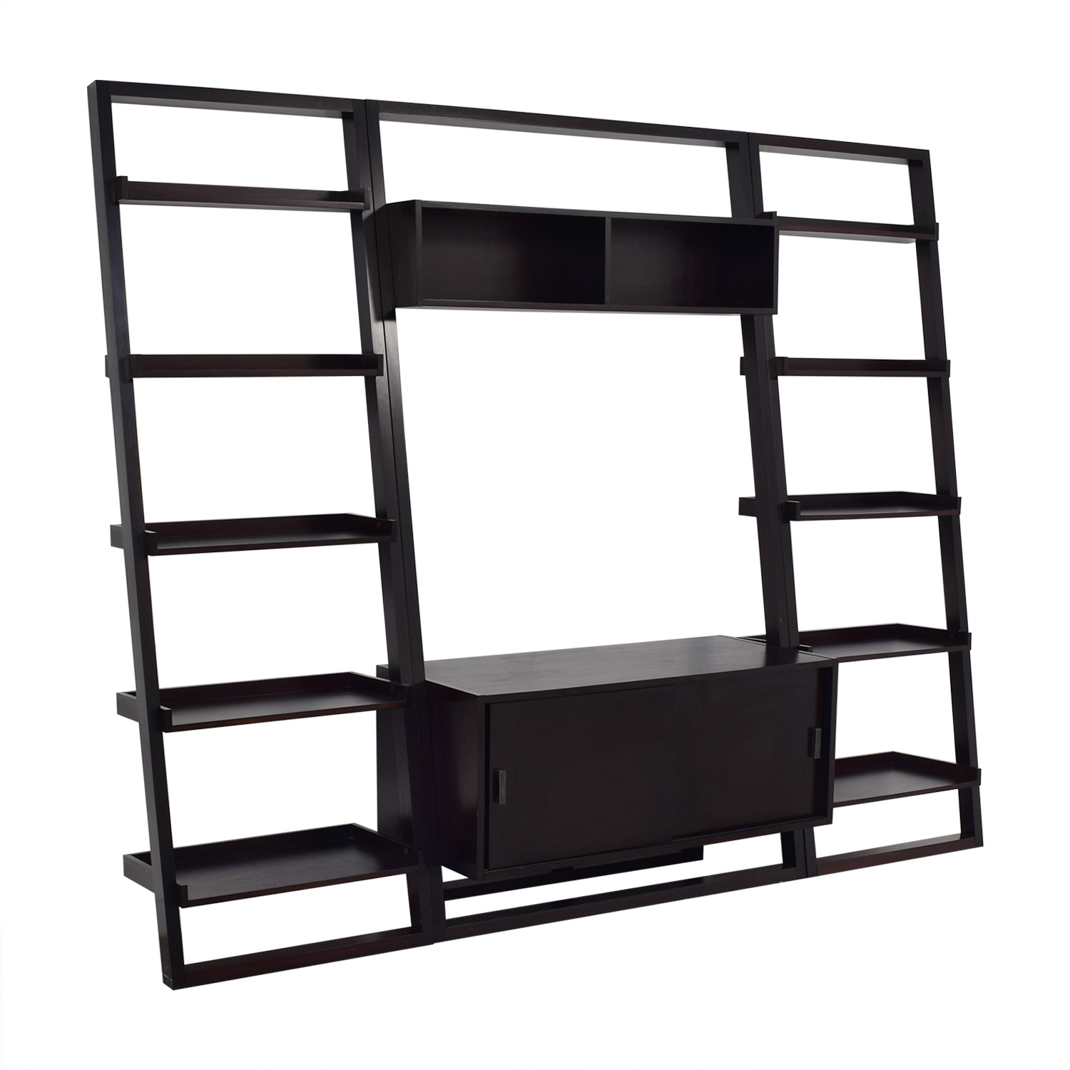 Crate & Barrel Crate & Barrel Sawyer Media Stand with Bookcases coupon