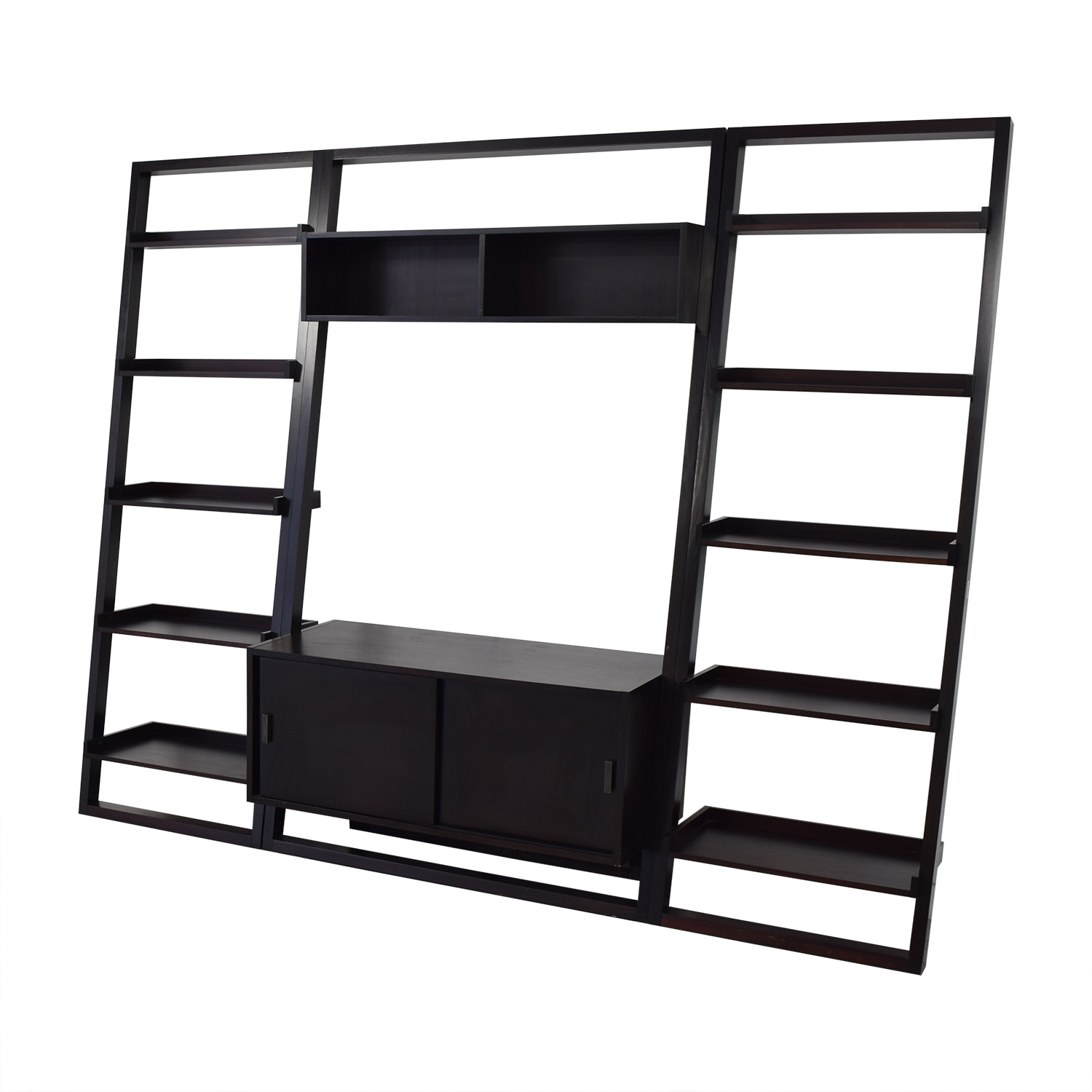 Crate & Barrel Crate & Barrel Sawyer Media Stand with Bookcases used