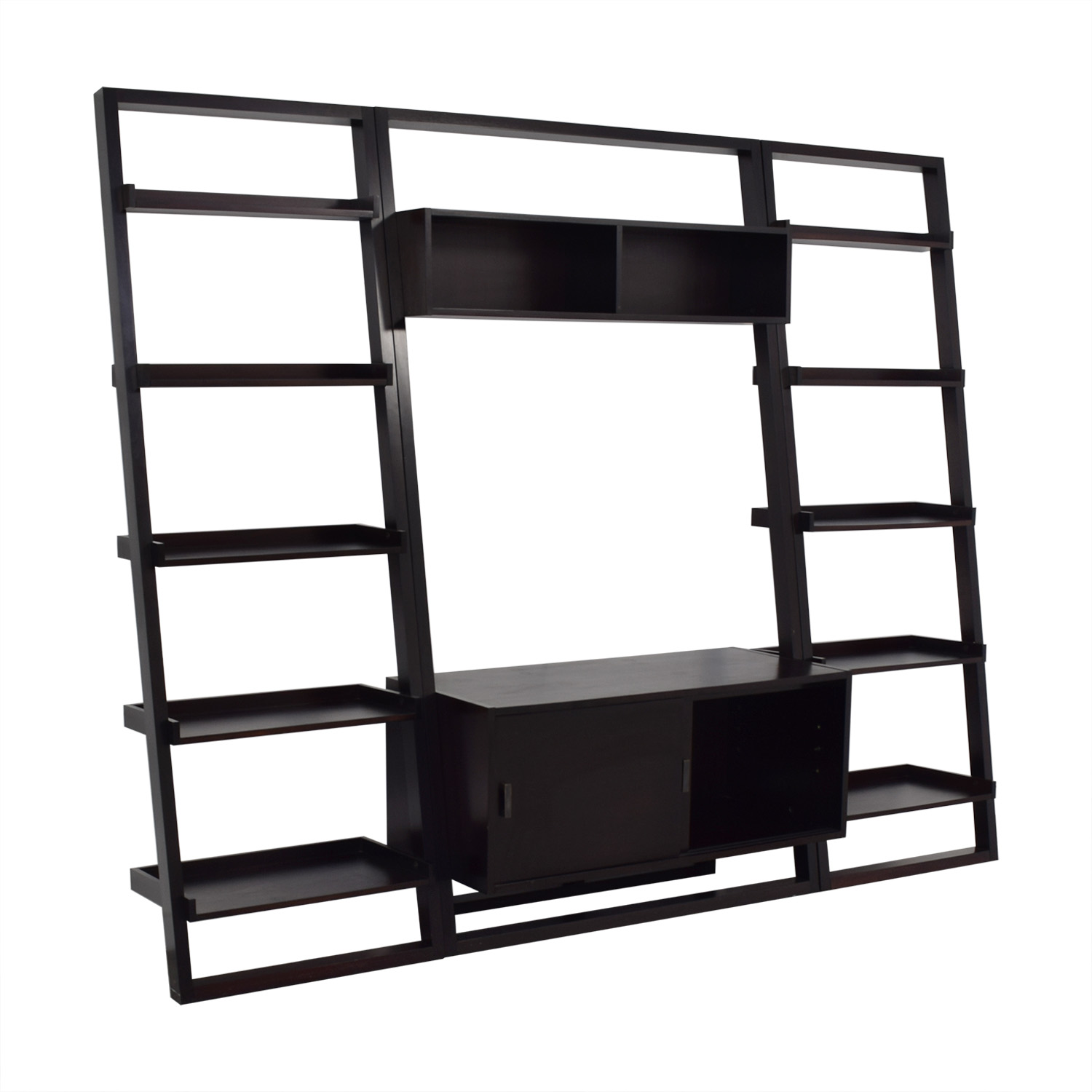 Crate & Barrel Crate & Barrel Sawyer Media Stand with Bookcases